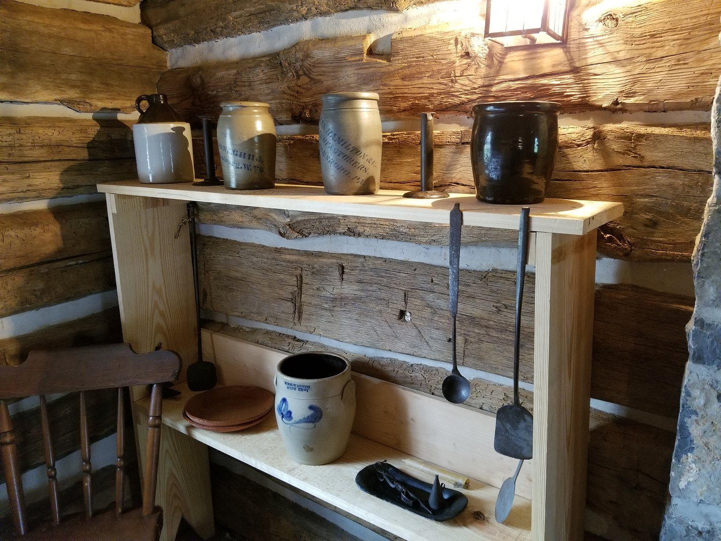 Crocks and other kitchen implements